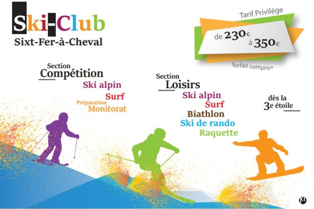 Page facebook du skiclub