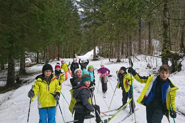 """Nos """"petits"""" en Ski de fond"""