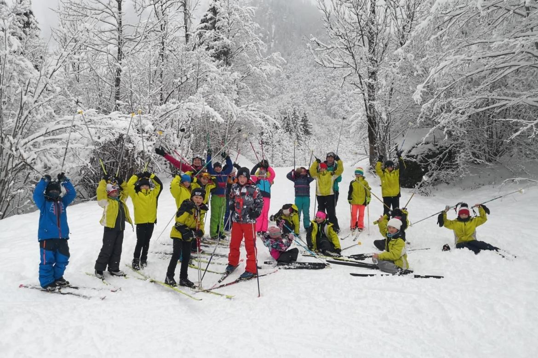 Dernière session de ski de fond de l'année 2020