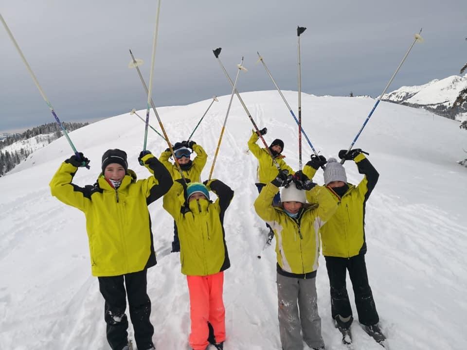 Ski de fond ... à fond !